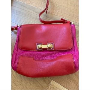 Marc by Marc Jacobs pink and red handbag